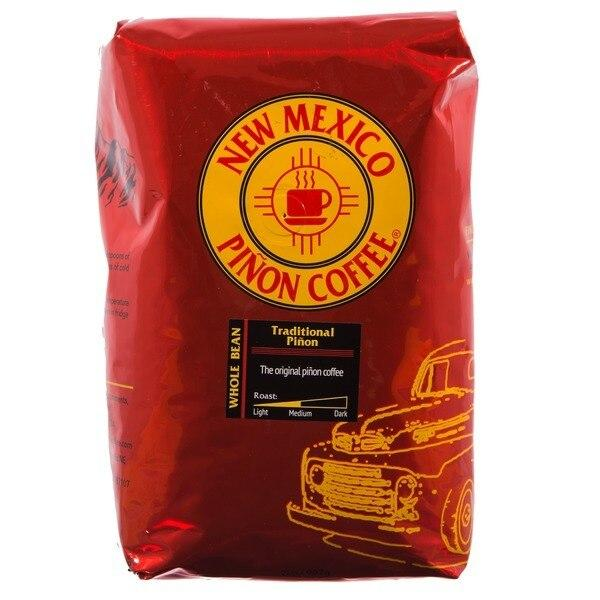 New Mexico Pinon Whole Bean Coffee Traditional Pinon - 2 lb.