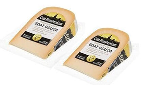 Old Amsterdam Goat Gouda Cheese Wedge, 5.29 oz (PACK of 2)