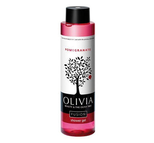 Olivia Fusion Shower Gel Pomegranate, 10 oz