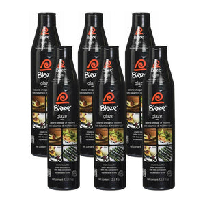 Original Blaze Balsamic Glaze by Acetum - 6 pack (380ml)