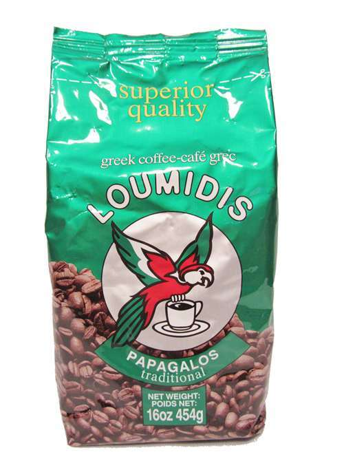 Papagalos Loumidis Ground Coffee - 16 oz