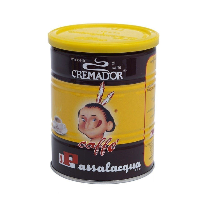 Passalacqua Cremador Ground Coffee Tin, 8.8 oz