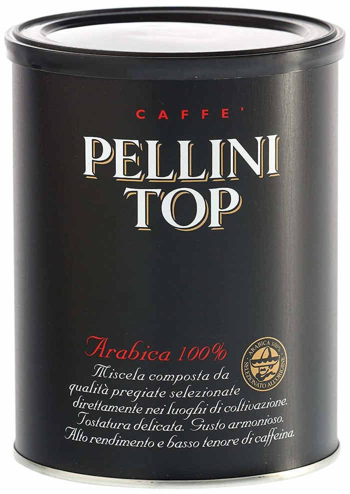 Pellini Top Arabica 100% Ground Coffee, 8.8oz
