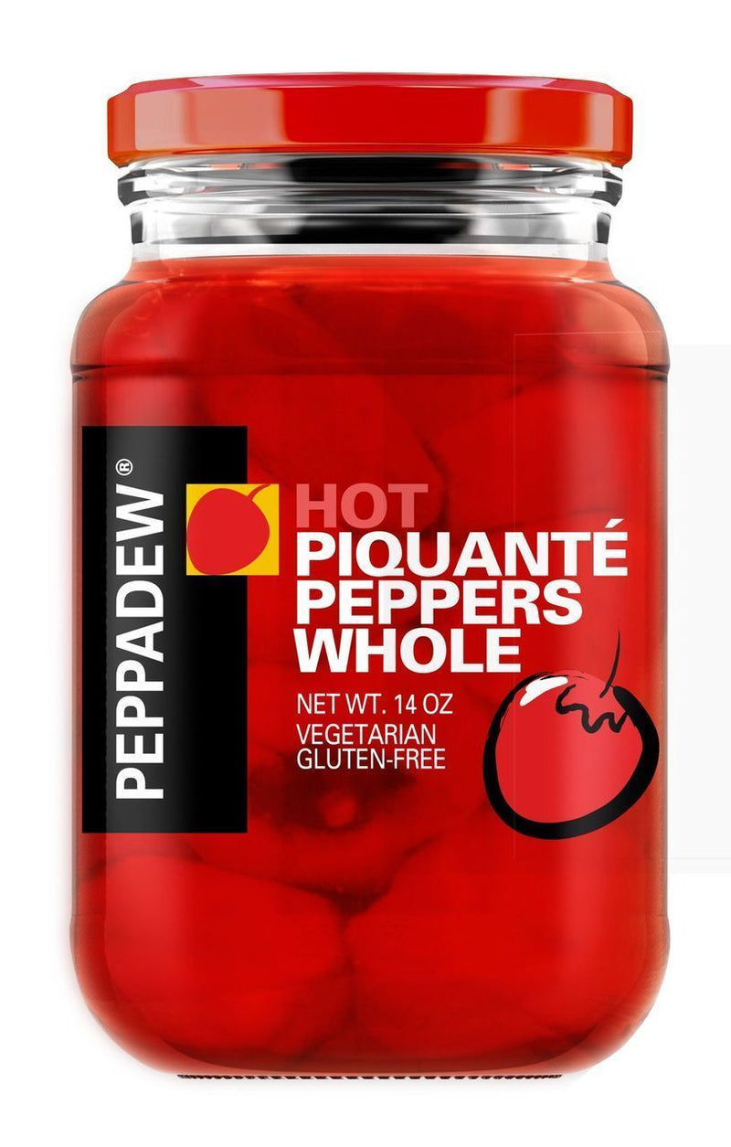 PEPPADEW Hot Whole Sweet Piquante Peppers - 14oz