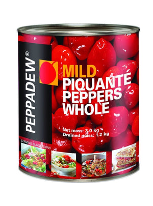 PEPPADEW Whole Mild Red - 105 oz