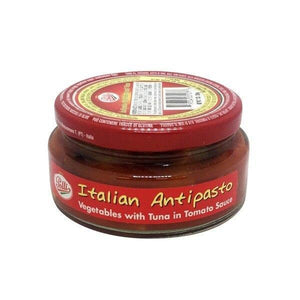 Polli Italian Antipasto with Veggies & Tuna, 7 oz (200 g) Sauces & Condiments Polli