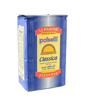 "Polselli Classic Soft Wheat ""00"" Pizza Flour, 2.2 lbs"