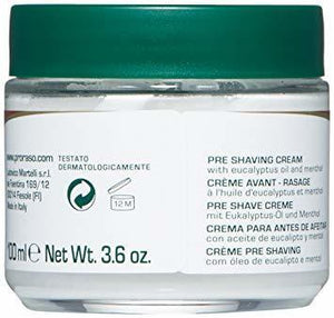 Proraso Pre-Shave Cream, Refreshing and Toning - 3.6 oz