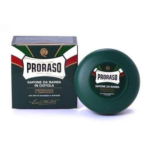 Proraso Shave Soap in a Bowl, Refreshing and Toning - 150 ml
