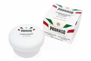 Proraso Shaving Soap in a Bowl for Sensitive Skin, 5.2 oz