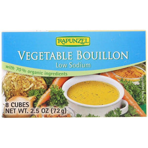 Rapunzel Vegetable Bouillon Low Sodium, 2.5 oz