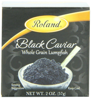 Roland Black Caviar Whole Grain Lumpfish - 2 oz