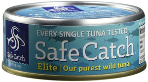 Safe Catch Canned Elite Wild Tuna 5 oz - Pack of 6
