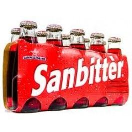 San Pellegrino Sanbitter Red Bitter- 10 Bottles (100mL each)