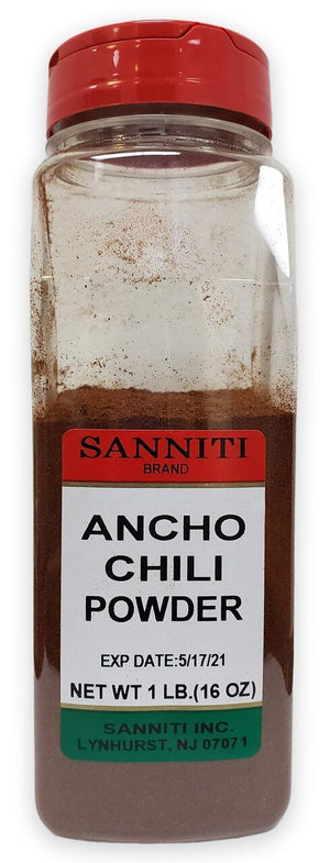 Sanniti Ancho Chili Powder - 1 lb