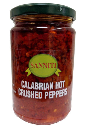 Sanniti Calabrian Hot Crushed Peppers, 10 oz