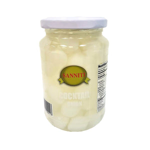 Sanniti Cocktail Onions, 13.1 oz