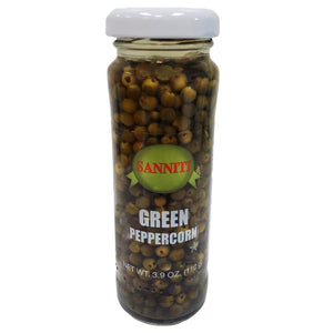 Sanniti Green Peppercorn - 110g