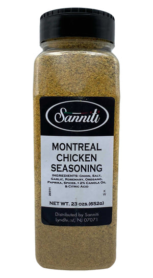 Sanniti Montreal Chicken Seasoning, 23 oz (652 g) Pantry Sanniti