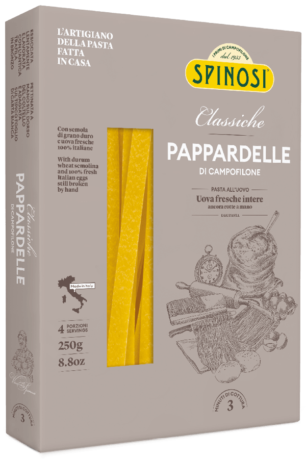 Spinosi Pappardelle Egg Pasta, 8.8 oz (250 g)