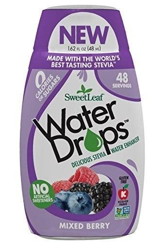 Sweetleaf Stevia Natural Water Drops Mixed Berry, 1.62 ounce