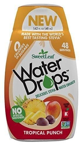 Sweetleaf Stevia Natural Water Drops Tropical Punch, 1.62 ounce