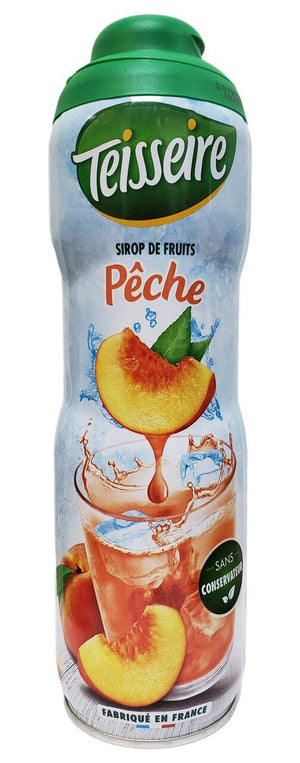 Teisseire French Peach Syrup, 20 oz
