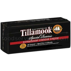 Tillamook Extra Sharp Cheddar Cheese - 10 lbs