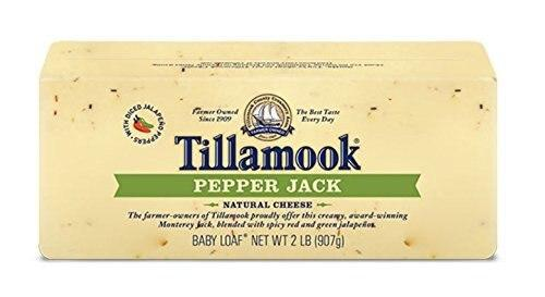 Tillamook Pepper Jack Cheese Baby Loaf, 2 lbs