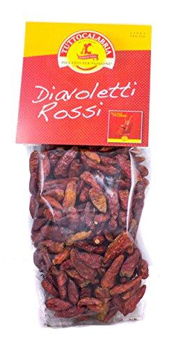Tutto Calabria Diavoletti Small Hot Peppers Bag, 1.7 oz (50 grams) Pantry Tutto Calabria