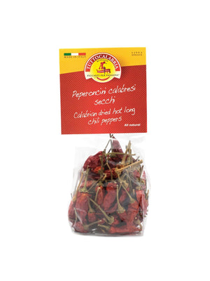 Tutto Calabria Dried Hot Long Chili Peppers, 0.70 oz Fruits & Veggies Tutto Calabria