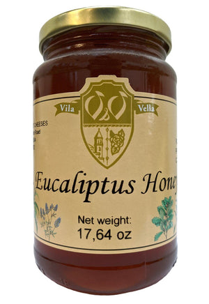 Vila Vella Spanish Eucalyptus Honey, 17.6 oz