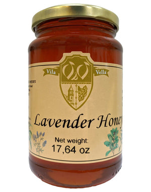 Vila Vella Spanish Lavender Honey, 17.6 oz
