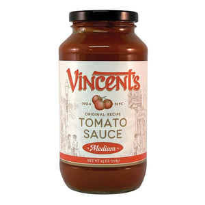 Vincent's Original Sauce Medium, 25 oz