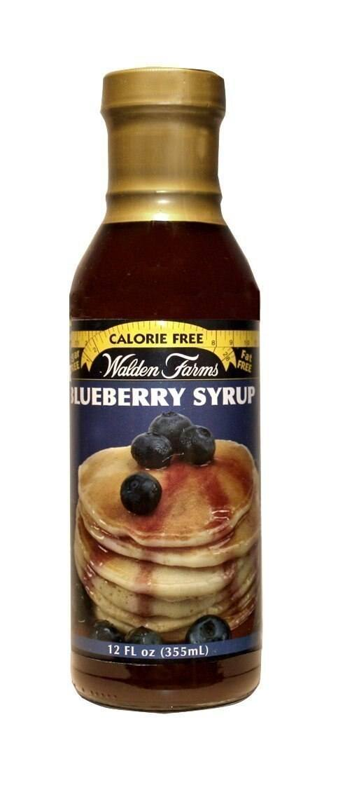 Walden Farms Blueberry Syrup - 12 Ounce