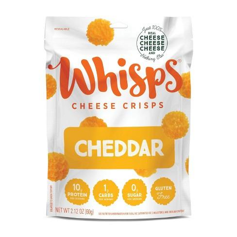 Whisps Cheddar Cheese Crisps bag - 2.12 oz Sweets & Snacks Whisps