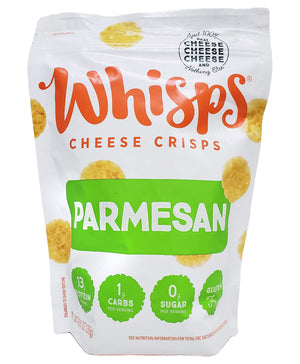 Whisps Parmesan Cheese Crisps Bag, 9.5 oz Sweets & Snacks Whisps