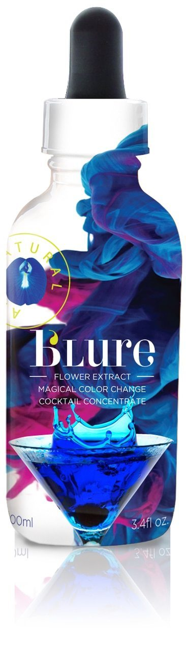 Wild Hibiscus b'lure Butterfly Pea Flower Extract - 3.4 oz