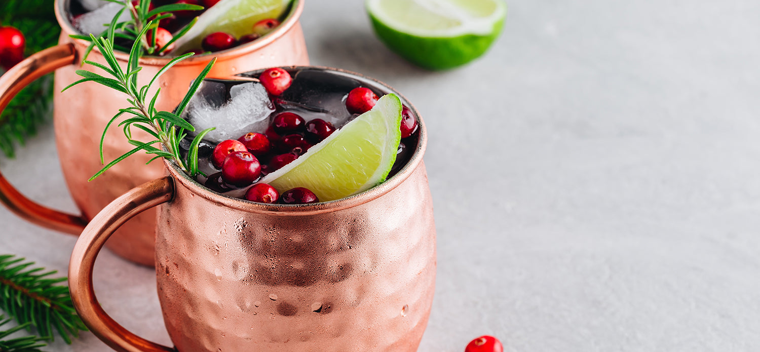 Cranberry Lime Mule