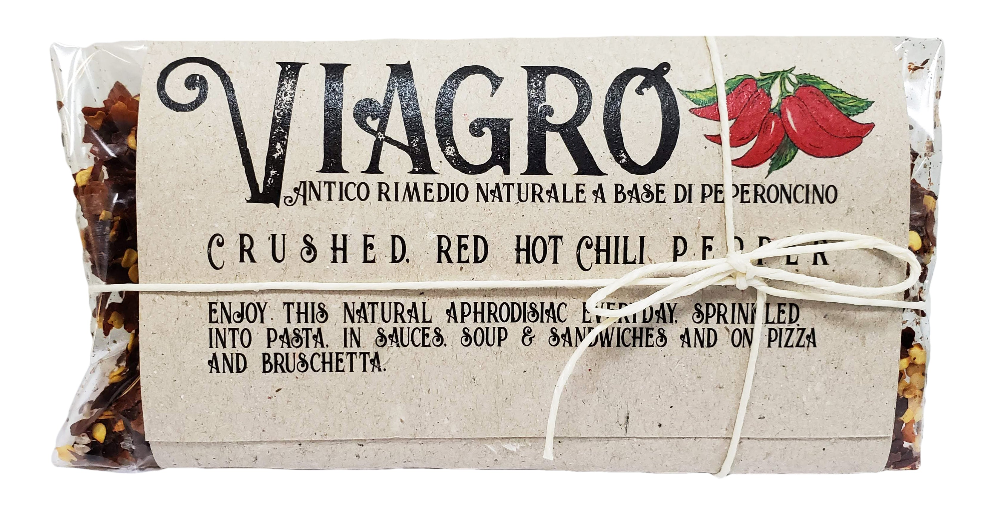 casarecci viagro crushed red hot chili pepper spices