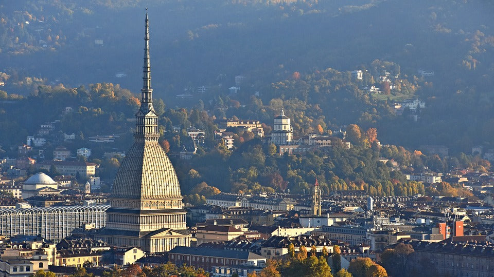 Hills of Turin Italy