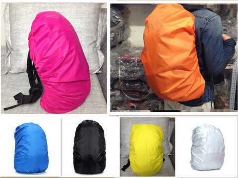 1 Pc Waterproof Travel Camping Hiking Backpack Trolley Luggage Bag Dust Rain Cover 6 Colors H3059