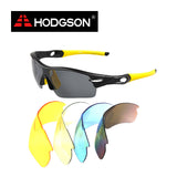 1019 HODGSON Brand Unisex Detachable Professional Cycling Sunglasses Set Men's Outdoor Polarized Bicycle Glasses Sports Eyewear - Shopy Max