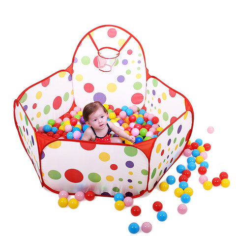 150cm Kid Safe Portable Outdoor Indoor Fun Tent Safety Playpen Toy Tent House Hut Ball Pool Baby Play Yard Tienda Corralito