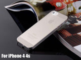 phone case For iPhone4S 4 Frosted Hard  Covers For iPhone4 4s Thin Back Cases Protection For iPhone4s