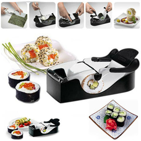 1 pcs Roll Sushi Mold model Easy Sushi Maker  Roll Ball Cutter Roller Rice Mold DIY kitchen accessories Tool FreeShipping