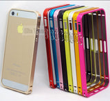 2014! Fashion Style Metal Hard Bumper Frame Cases For iPhone 5 iPhone 5S Case For iPhone5 iPhone5S Cover Phone Protection Shell&