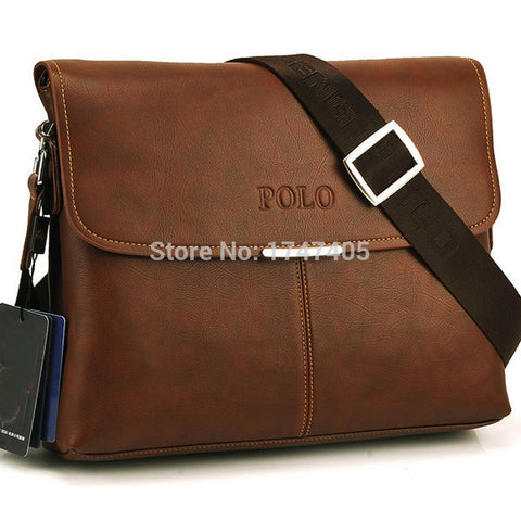 2015 100% Cowhide Crossbody bags for men bag Genuine Leather Men's casual leather messenger bag Over Shoulder Bags Men Briefcase