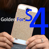 2015 Hot Bling Phone Case Shinning Luxury Cover for Samsung Galaxy S5 S4 S3 back cover Sparkling case for Galaxy S5 G900