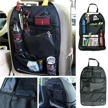 Car Auto Care Seat Cover Storage Bag Pouch For Children Kids Kick Mat Mud Car Storage Boxes for Your Angle